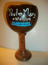 Personalized Coconut Wine Cup
